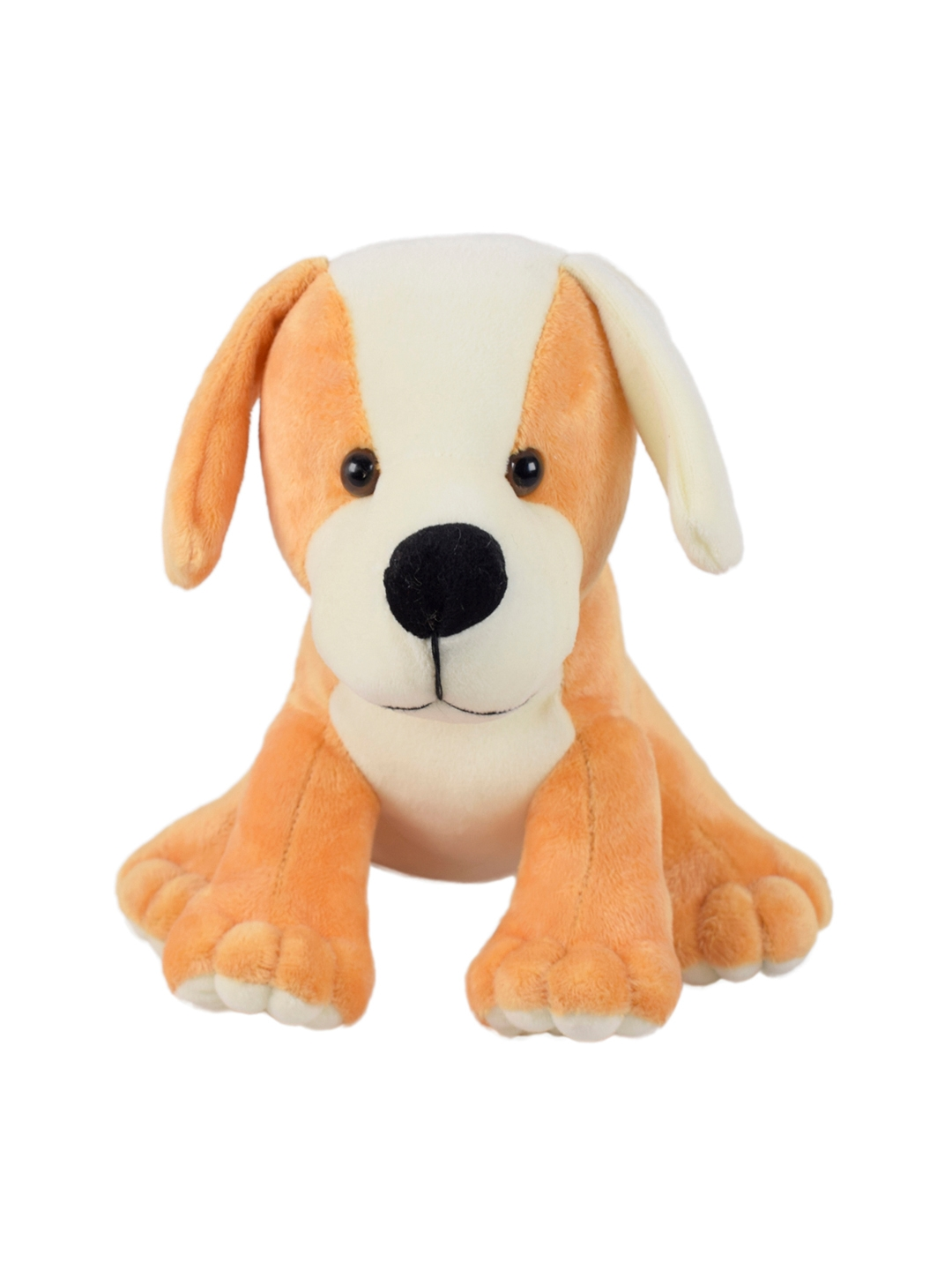 Ultra Kids Brown   White Adorable Puppy Soft Toy