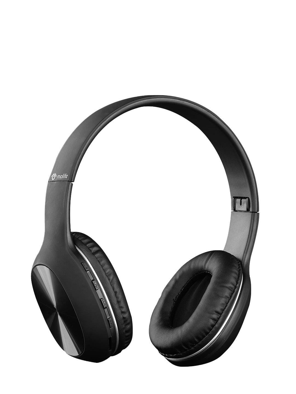 molife Unisex Black Solid Wireless Drums 300 Headphone