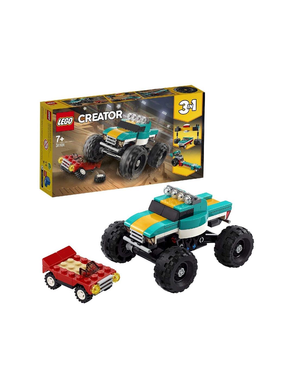 LEGO Kids Teal Green   Black Monster Truck