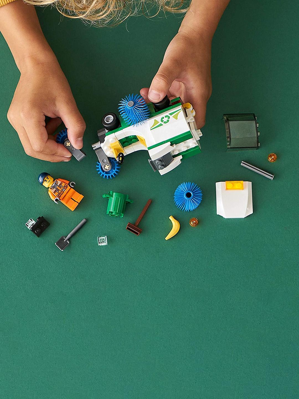 LEGO Unisex Kids Multicoloured City Street Sweeper Set