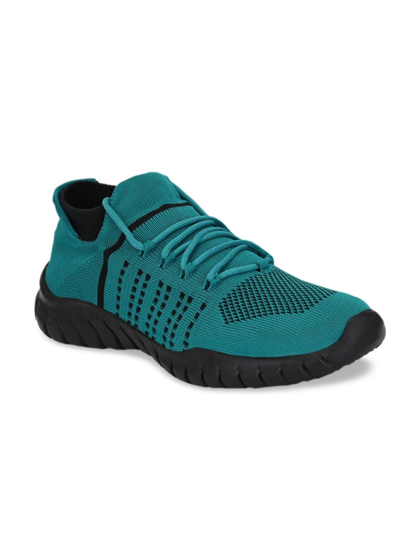 AfroJack Men Green Running Shoes