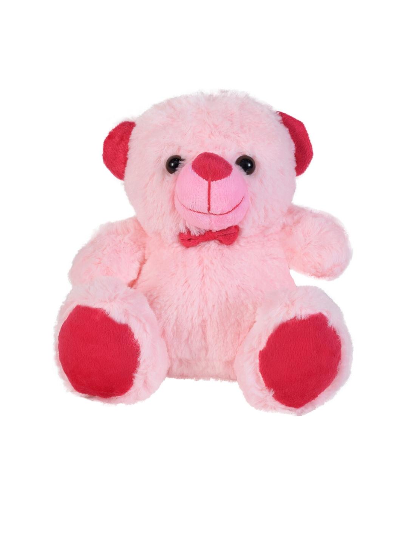 Ultra Kids Pink   Red Jolly Teddy Bear Soft Toy