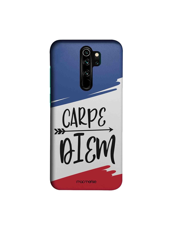 macmerise Blue   White Carpe Diem Xiaomi Redmi Note 8 Pro Back Cases