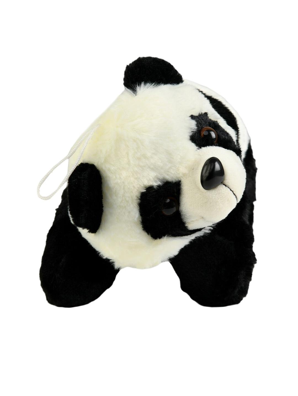 DukieKooky Unisex Kids Black   White Cute Baby Panda Soft Toy