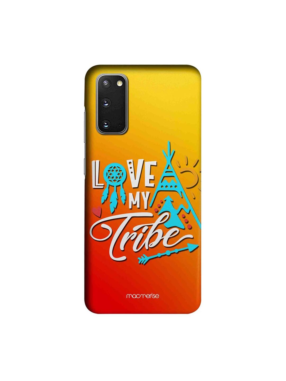 macmerise Yellow   Orange Love My Tribe Samsung Galaxy S20 Back Case