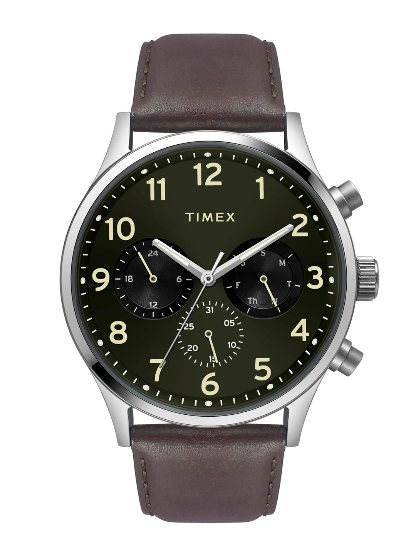 Timex Men Green Analogue Watch