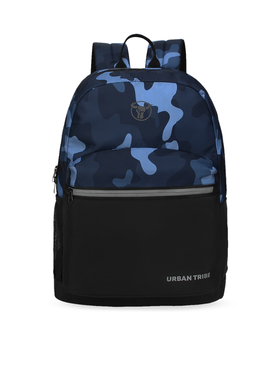 URBAN TRIBE Unisex Blue Camouflage Laptop Backpack
