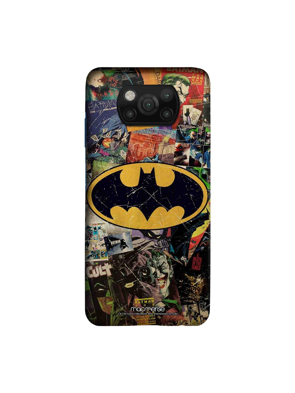 macmerise Black   Yellow Comic Bat Xiaomi Poco X3 Back Cover