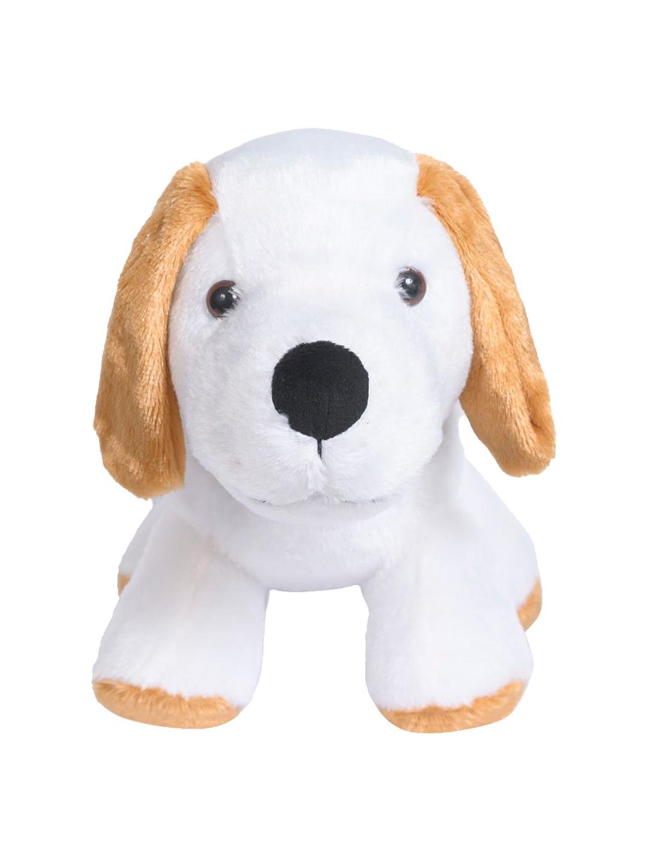 Ultra Kids White   Beige Cute Dog Plush Animal Soft Toy