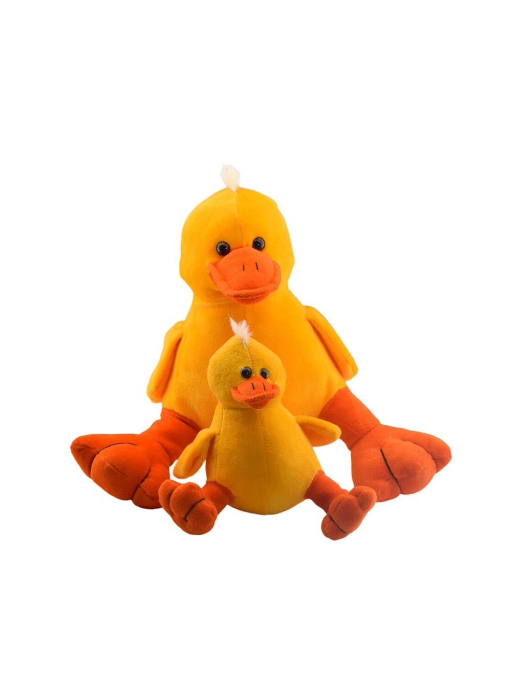 Ultra Kids Set Of 2 Yellow   Orange Ducks Soft Toy
