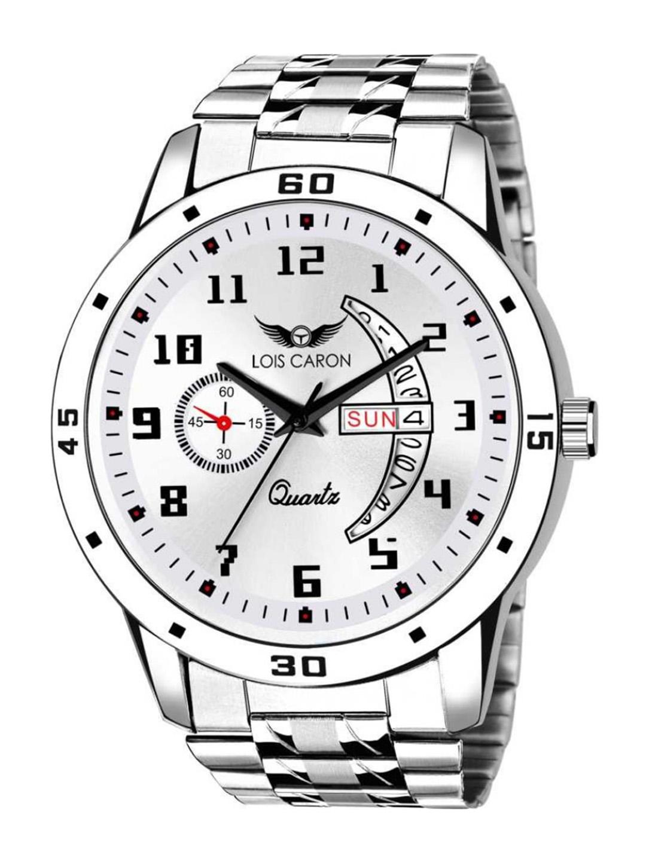 LOIS CARON Men White Analogue Watch LCS 8189