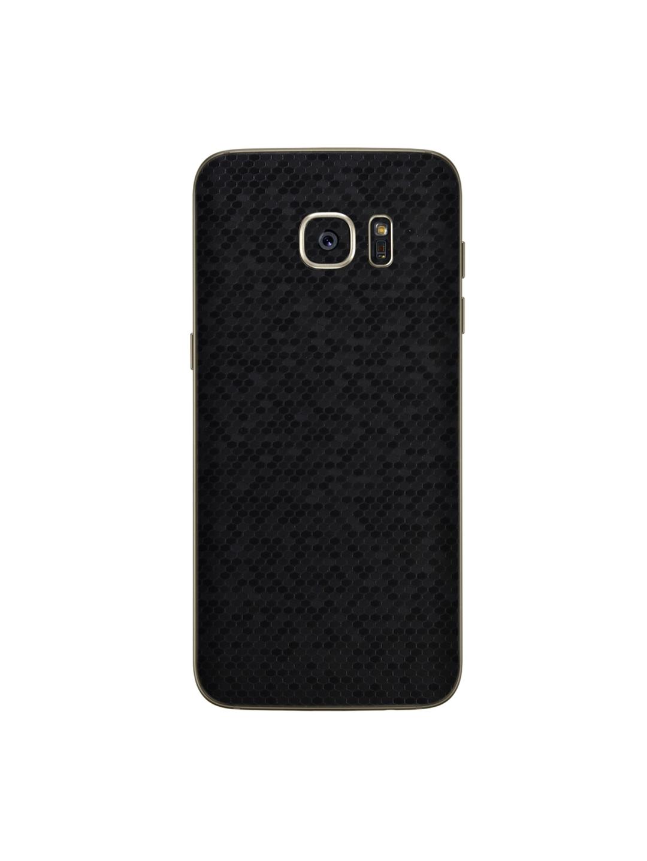 Trendy Skins Black Honey Comb Pattern Samsung Galaxy S7 Edge Phone Skin