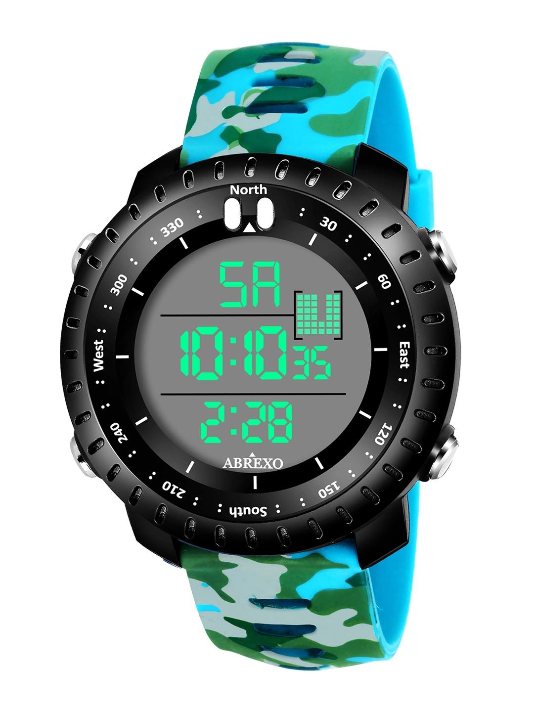 Abrexo Men Blue Digital Watch