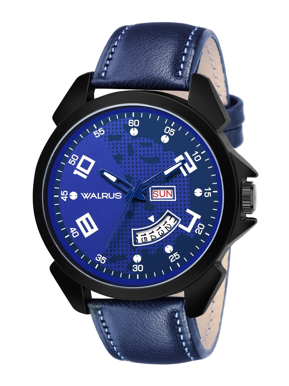 Walrus Men Blue Invictus XXII Analogue Watch
