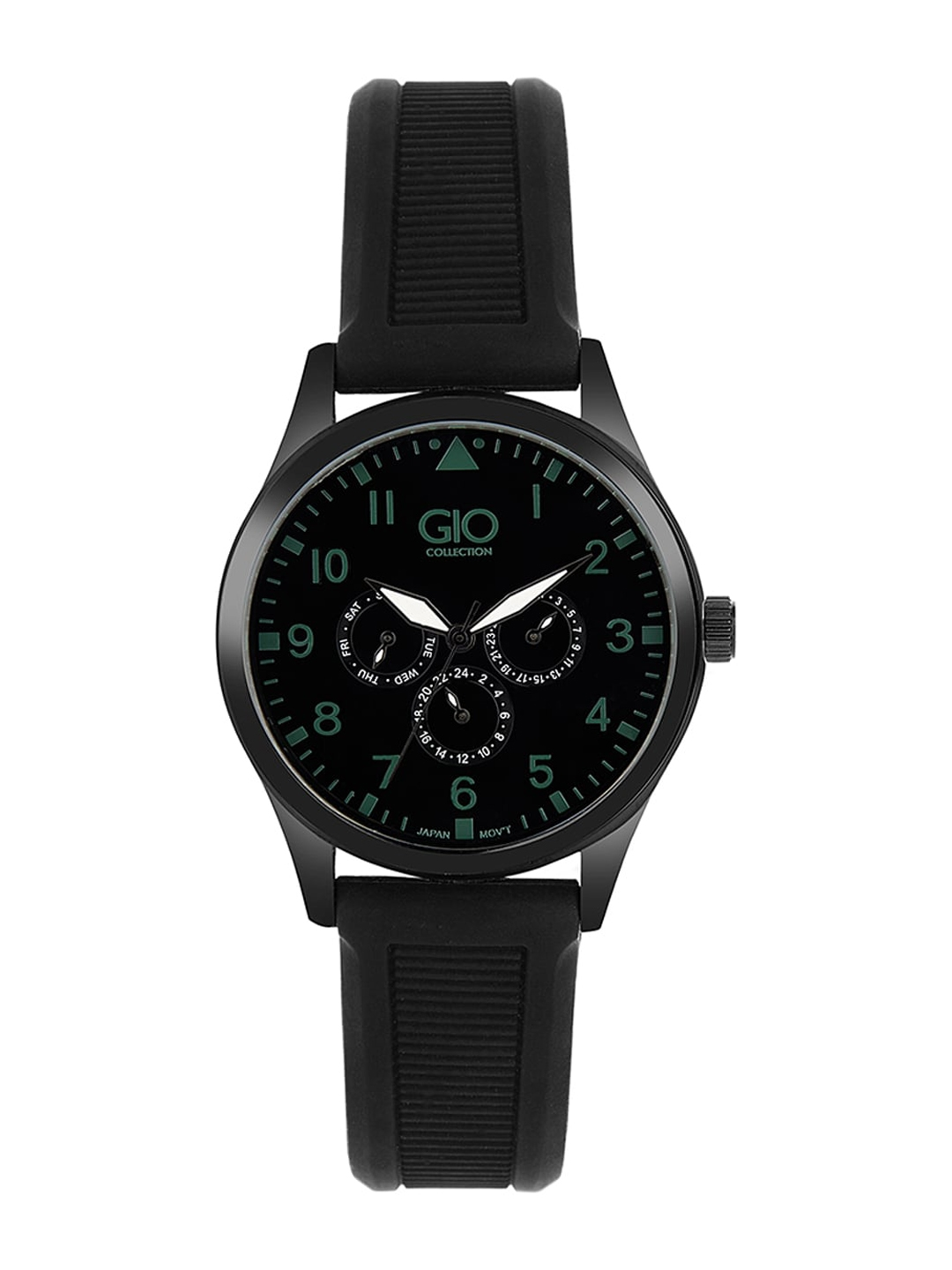 GIO COLLECTION Men Black Analogue Watch G0068 04X