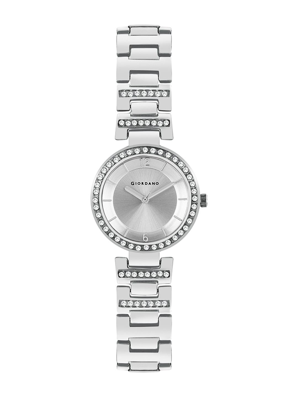 GIORDANO Women Silver Toned Analogue Watch GD4051 11
