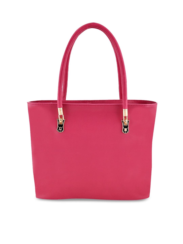 Lychee bags Pink Solid Shoulder Bag