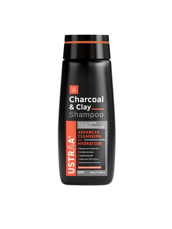 Ustraa Charcoal   Clay Shampoo   250 ml