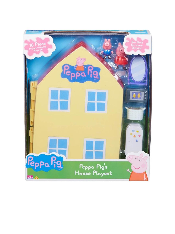 Planet Superheroes Kids Green   Blue Peppa Pig Playhouse Playset