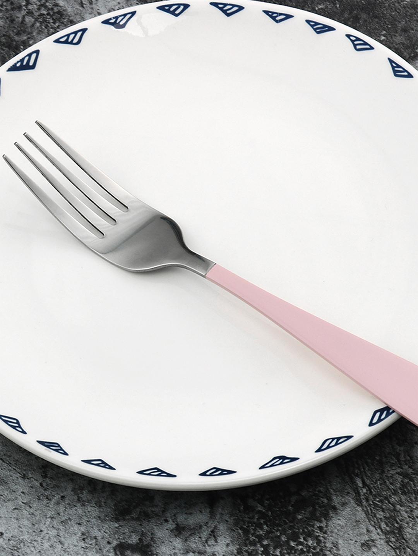 YOYOSO Pink Set Of 3 Steel Forks
