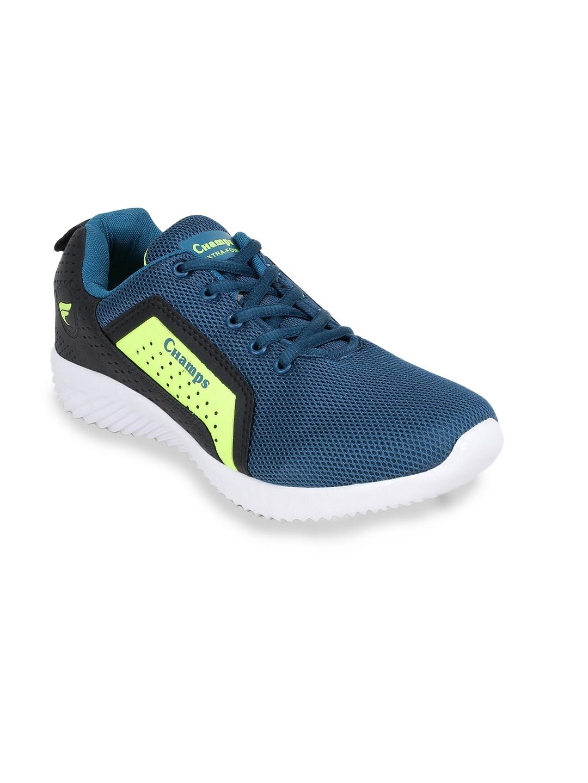 Champs Men Blue Running Shoes