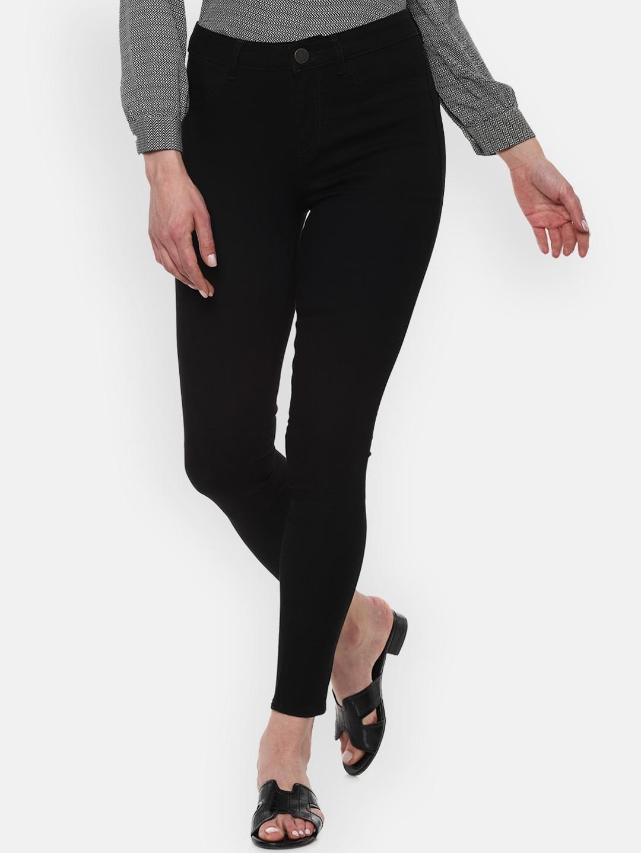 Van Heusen Woman Women Black Slim Fit Jeans