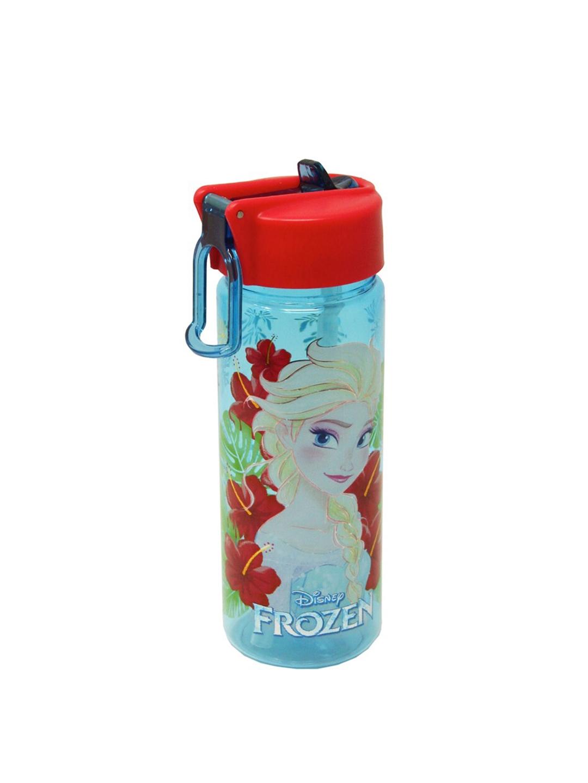 Disney Girls Blue   Red Frozen Printed Sipper Water Bottle 550 ml