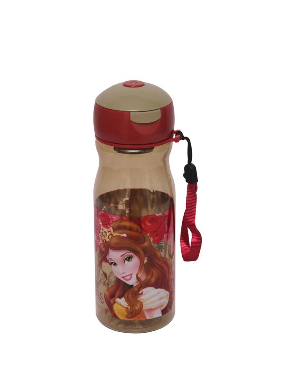 Disney Girls Brown   Maroon Disney Printed Water Bottle 500 ML