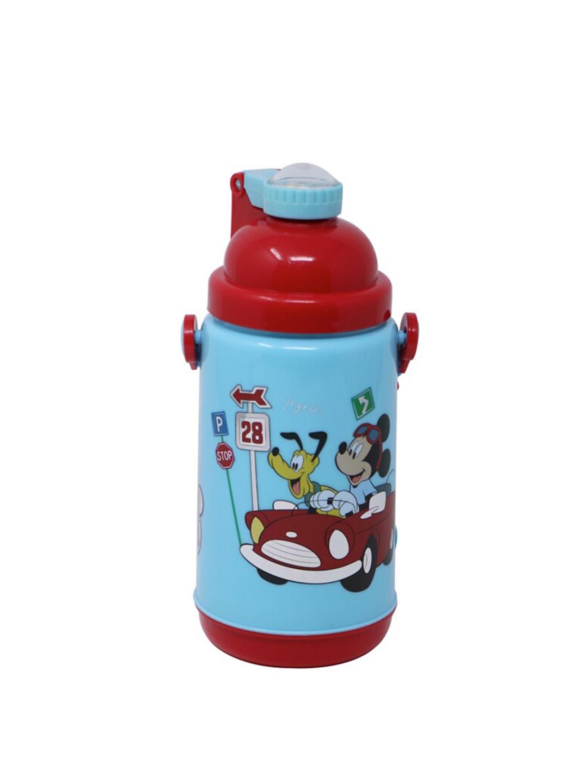 Disney Kids Blue   Maroon Mickey   Goofy Printed Sipper Water Bottle 500 ml HMLZSB 20403