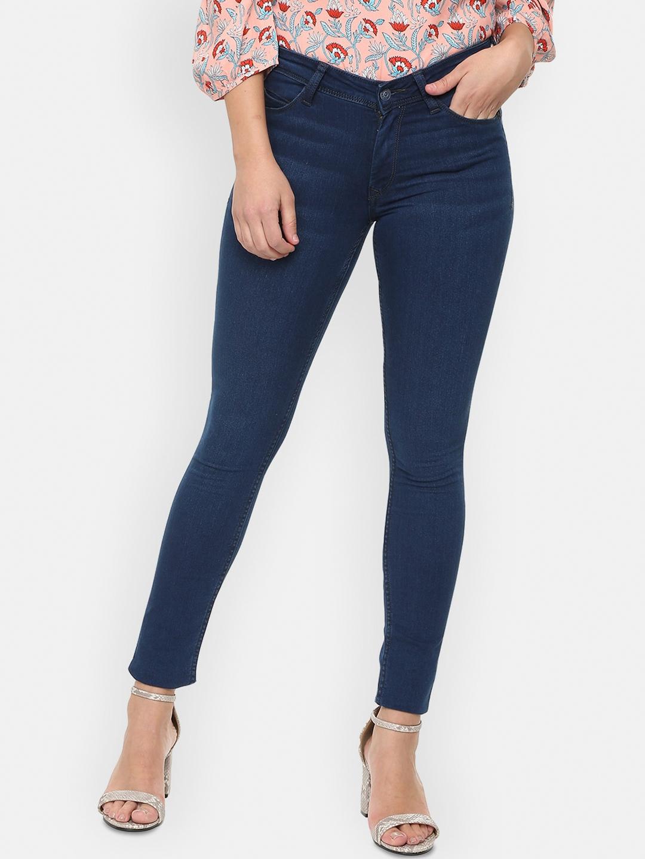 Allen Solly Woman Women Blue Slim Fit Jeans