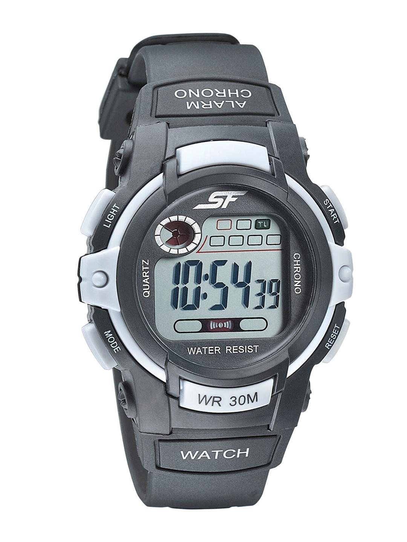 Sonata Men Grey Digital Watch