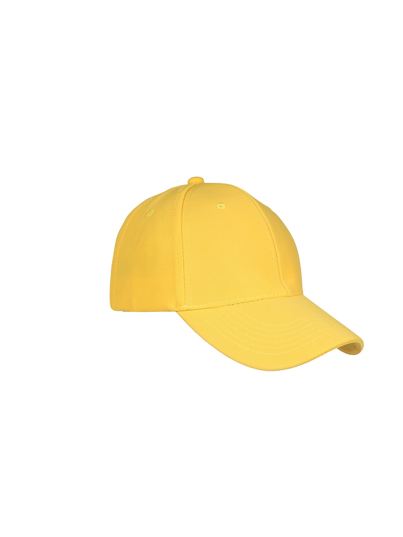 FabSeasons Unisex Yellow Baseball Cap