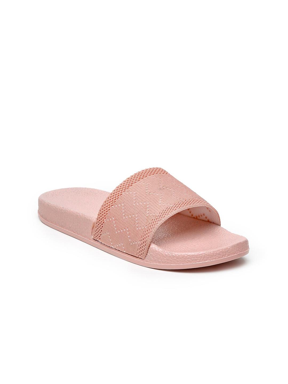 Misto Women Pink Flat Sliders