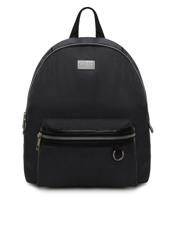 KLEIO Women Grey Light Weight Backpack