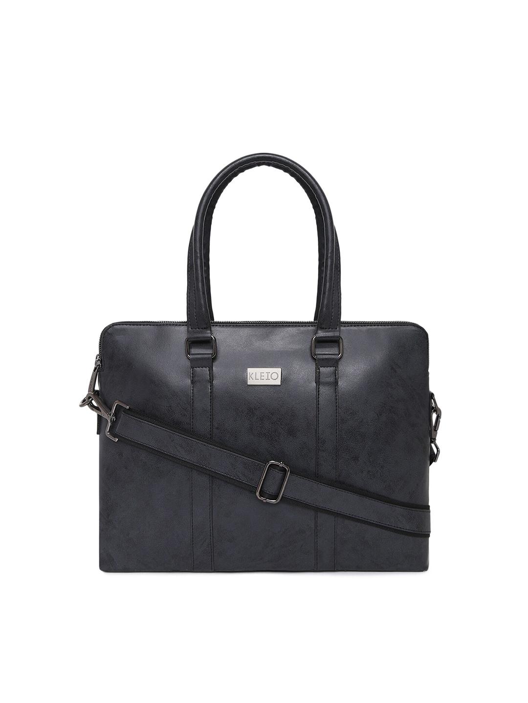 KLEIO Unisex Black 13 inch Laptop Bag