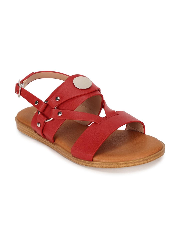 Allen Solly Woman Women Red Open Toe Flats