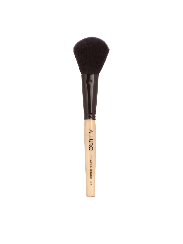 ALLURE Beige   Black Classic Large Powder Makeup Brush