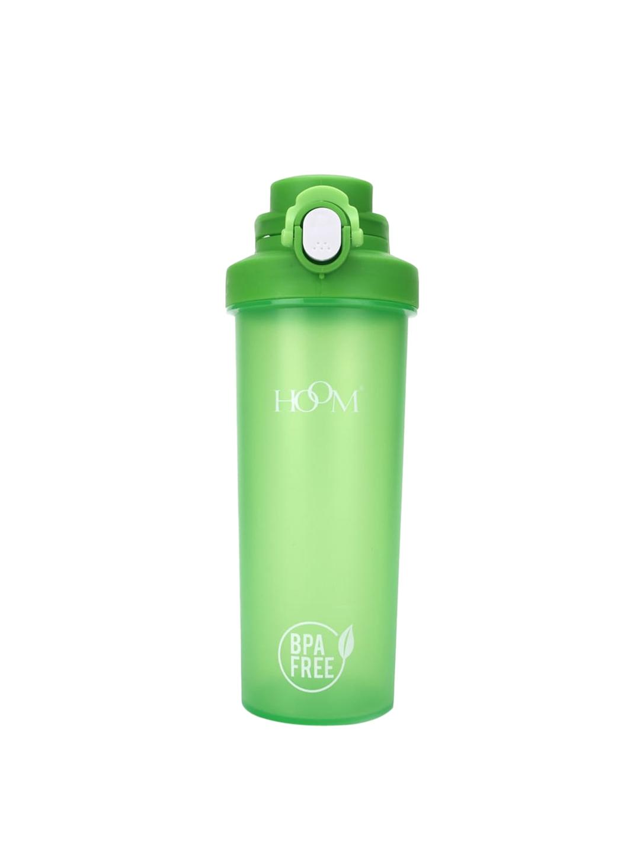 HOOM Green Solid Shaker Water Bottle 750 ML