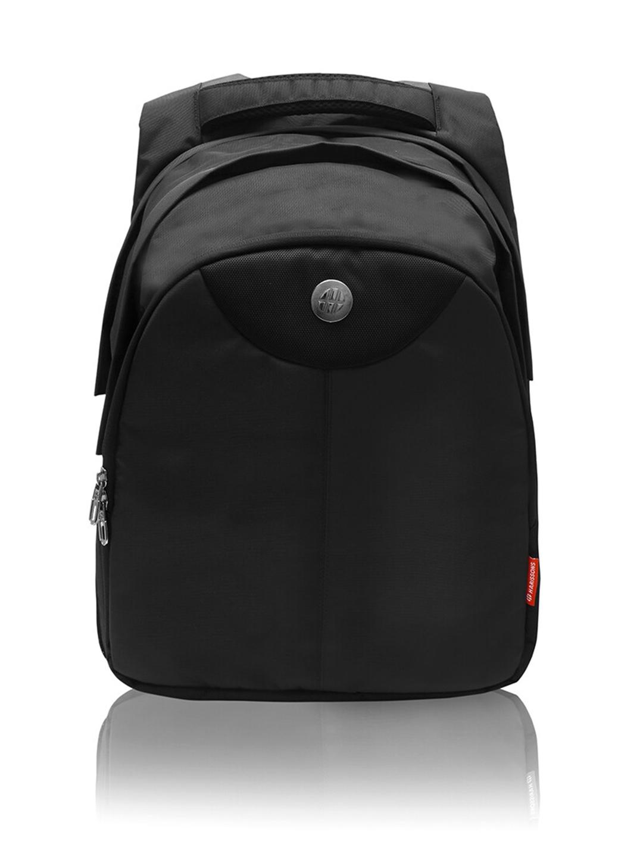 Harissons Unisex Black 16 inch Backpack