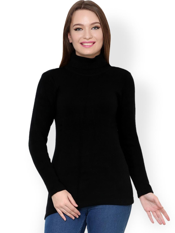 d86e935f6b Buy Renka Black Sweater - Sweaters for Women 1024456