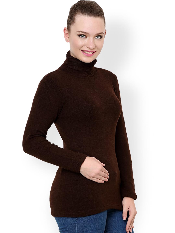 f3dea2d123 Buy Renka Brown Sweater - Sweaters for Women 1024458