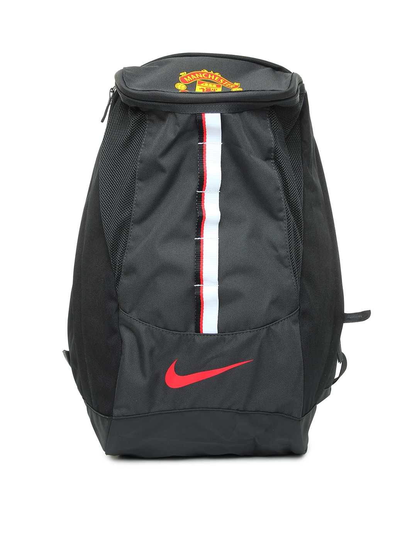 8da834c620a0 Nike Black Allegiance Manchester United Shield Compact Football Backpack