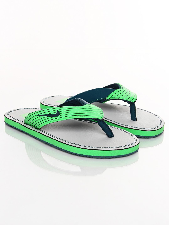01169c37e98 Buy Nike Green   Blue Chroma Thong III Flip Flops - Flip Flops for ...