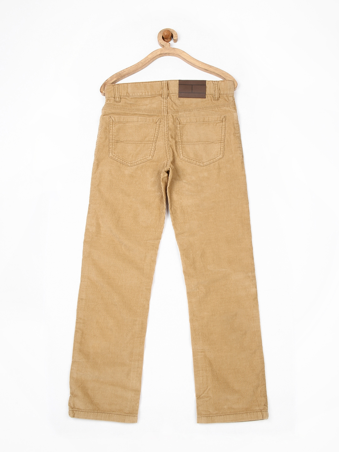 a94d2ef853e16 Buy Tommy Hilfiger Boys Light Brown Corduroy Trousers - Trousers for ...