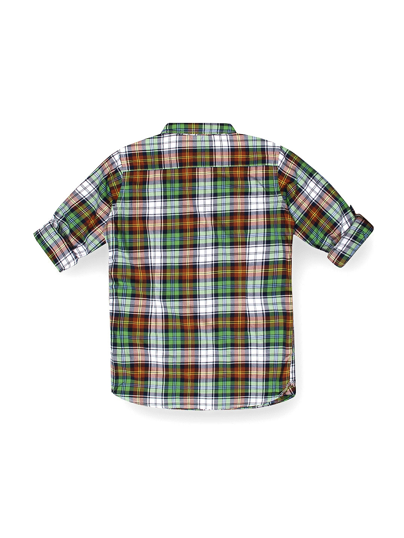 71fbd50979 Buy U.S. Polo Assn. Kids Boys Multicoloured Checked Shirt - Shirts ...