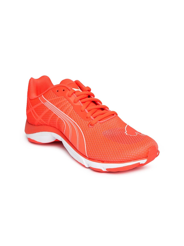 Buy Puma Women Neon Orange Mobium Elite