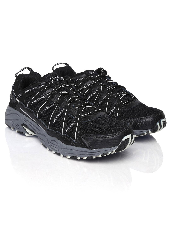 a1eb4c03e5b1 Buy Fila Men Black Headway 4 Sports Shoes - Sports Shoes for Men 585309