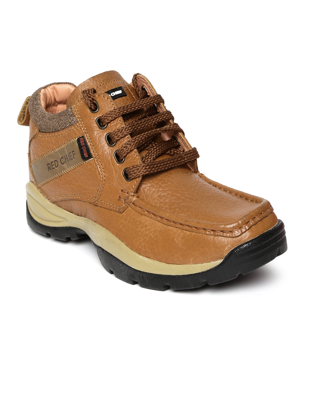 Buy Red Chief Men Tan Brown Leather