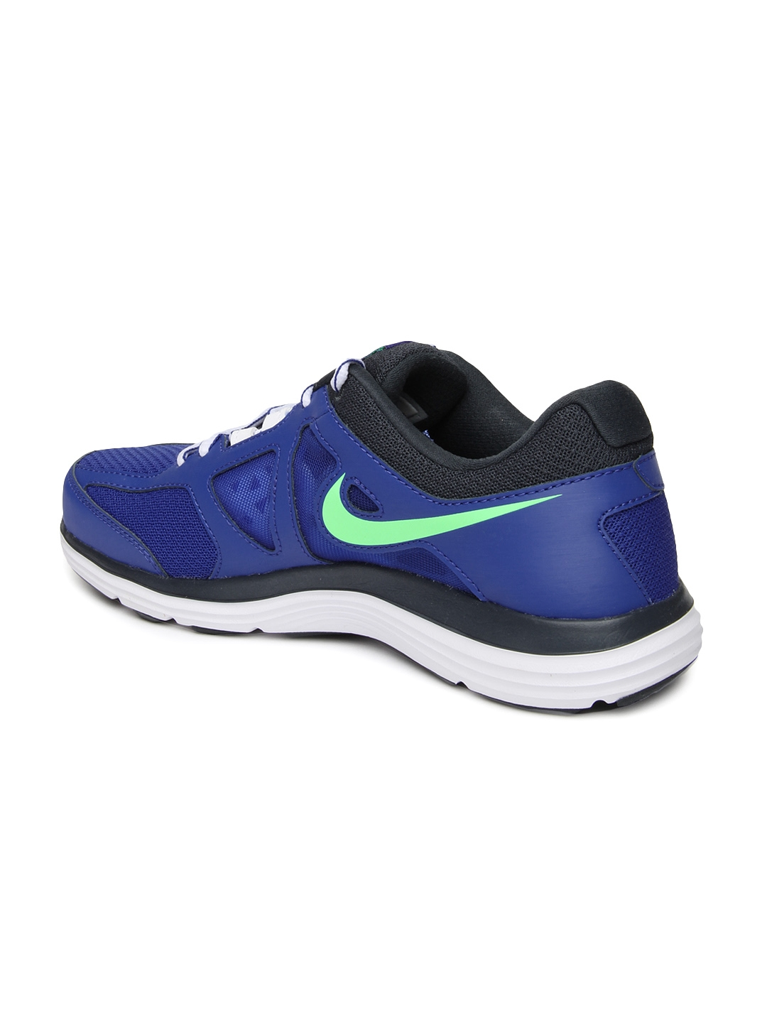 new products 8b379 72ece Nike Men Blue Dual Fusion Lite 2 MSL Running Shoes