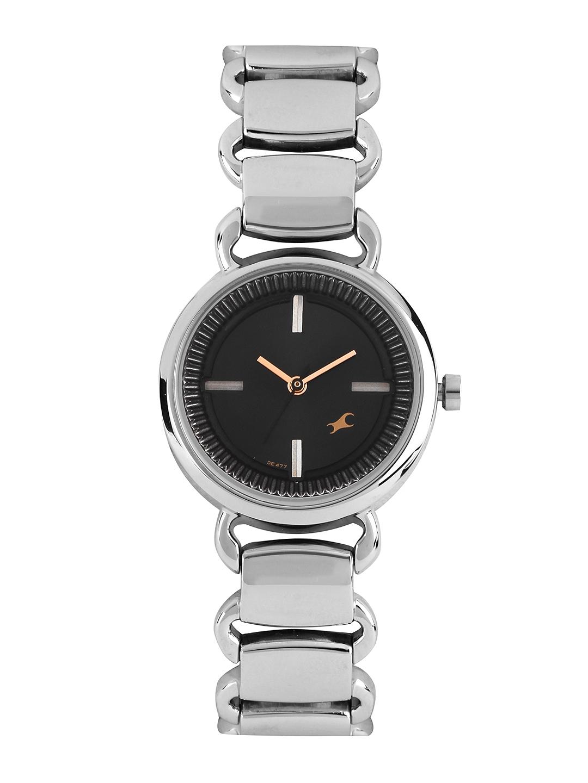Fastrack Women Black Dial Watch 6117SM01